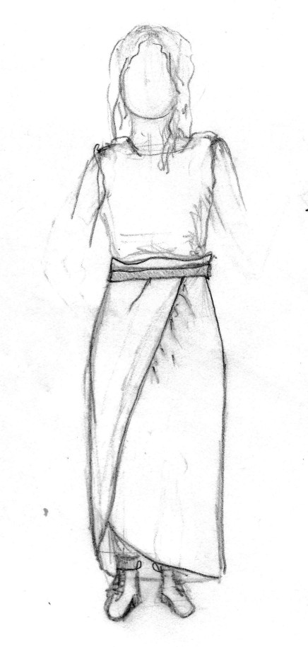 jessa skirt sketch