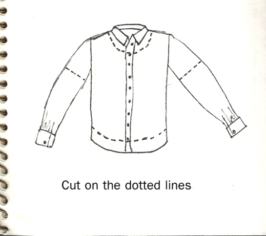 peasant shirt tutorial