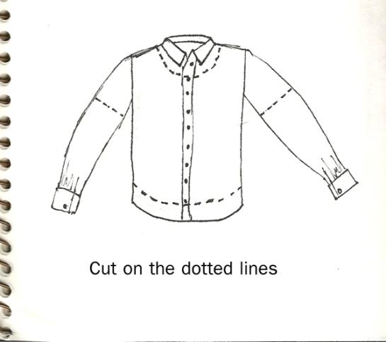 peasant shirt tutorial