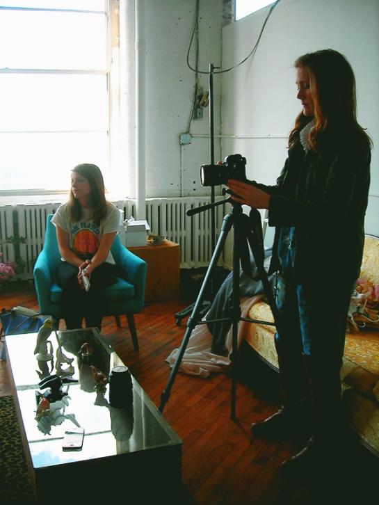 visit to Madalynne studios