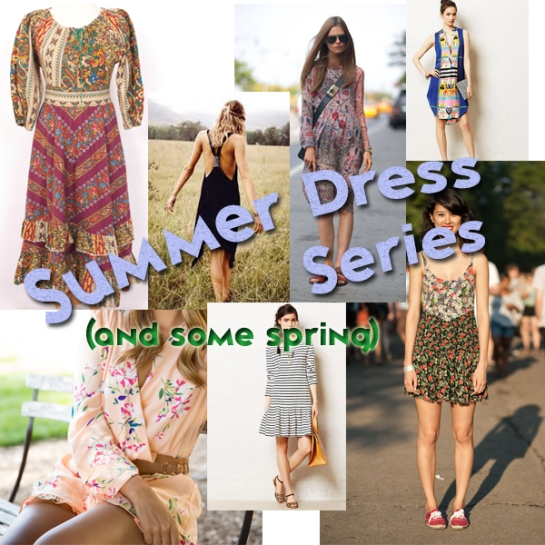 summer dress series header